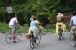 Seersucker Social riders arrive at Hillwood Estate
