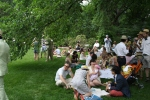 Lawn party at Hillwood Estate, Museum & Gardens