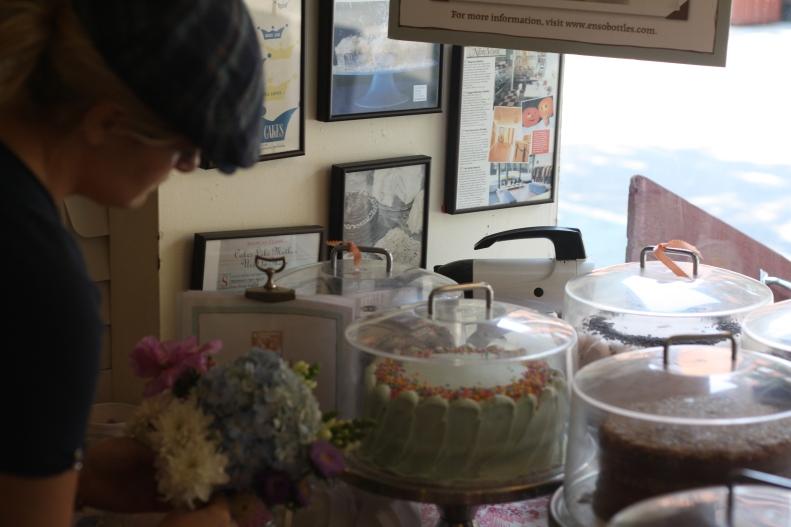 cakes at Magnolia