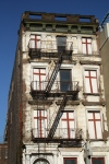 crosses on Harlem building