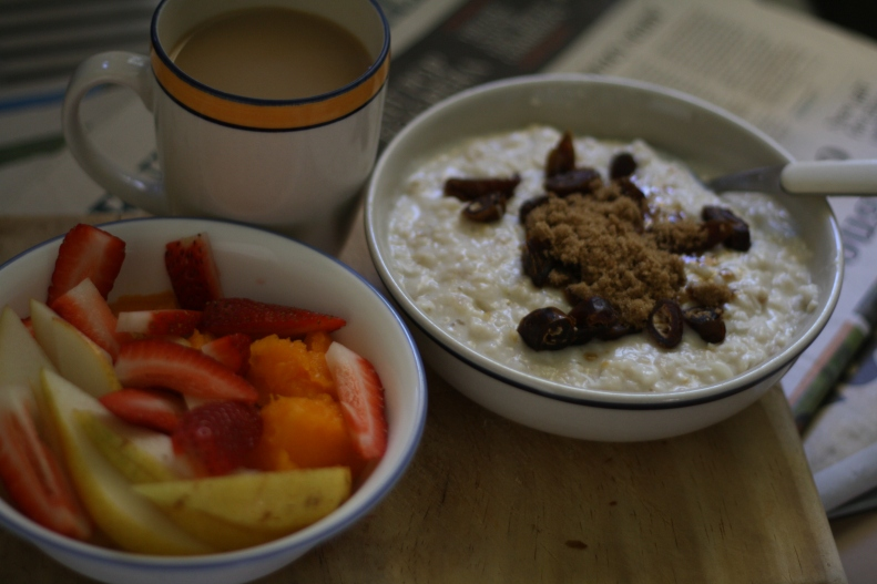 slow cooked porridge