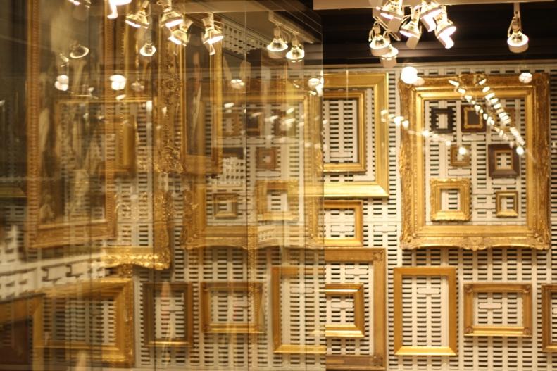 frames in storage at The Met