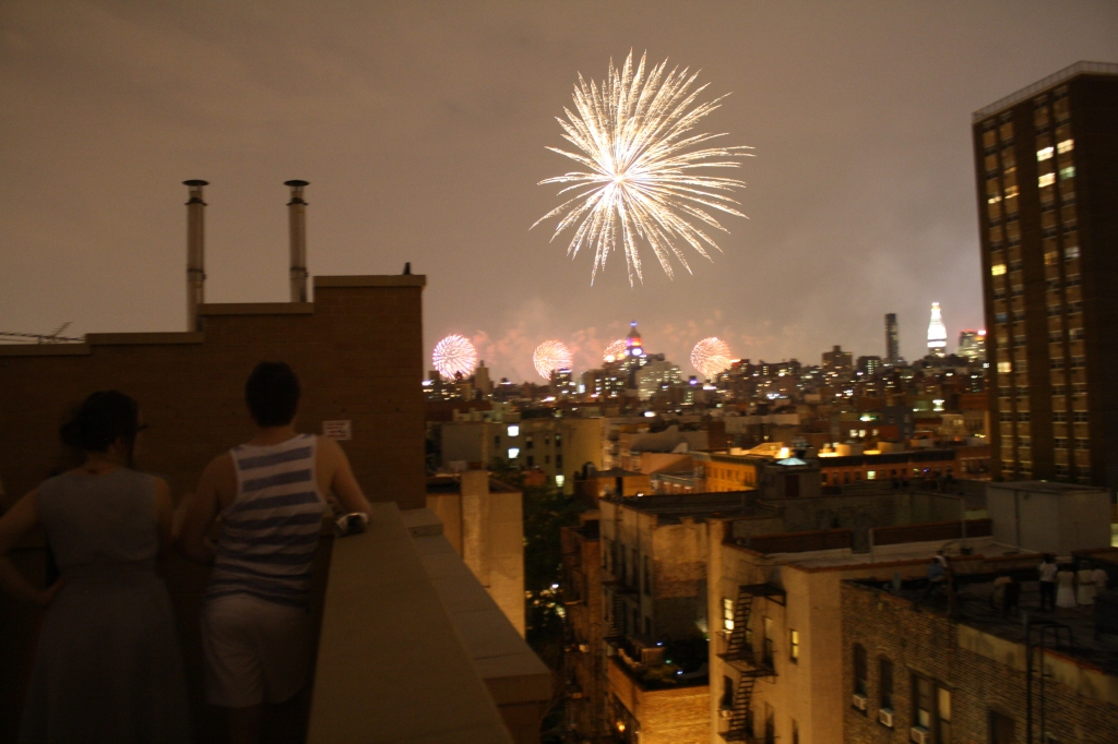 July 4 fireworks in NYC