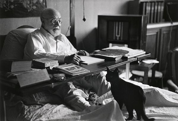 Henri Matisse by Robert Capa, 1949